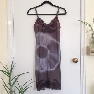 Vintage slip dress.